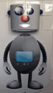 Robot Hand Dryer