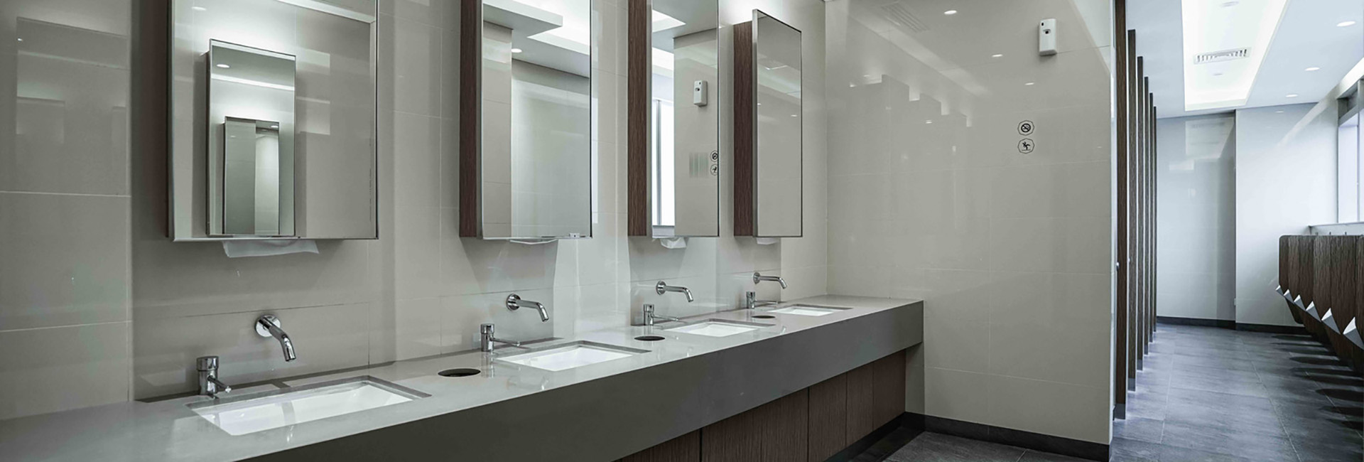 Installation and Aftercare - Commercial Secor Washroom